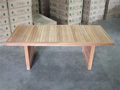 Teak tiara table 220x100 87 x40 for Table 220x100