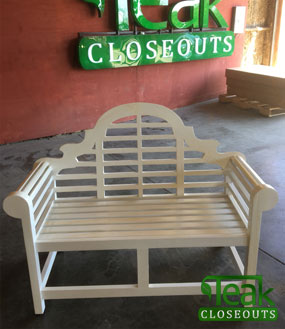 painting teak furniture 02