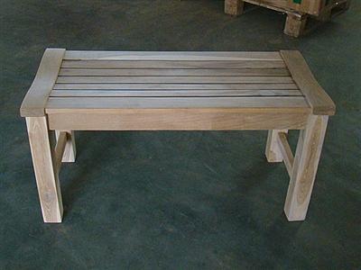 90cm 36 Quot Rinjani Teak Backless Bench
